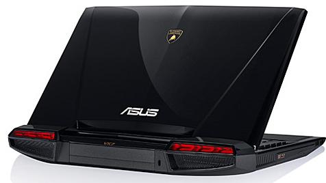 Lamborghini-Laptop von Asus bringt Autofans in Wallung (Bild: Asus)