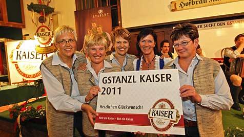 Pinzgau dominiert finales Gstanzl-Treffen im Hofbräu (Bild: Markus Tschepp)