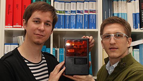 TU Wien baut kleinsten 3D-Drucker der Welt (Bild: TU Wien)
