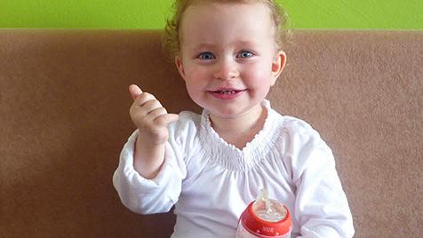 Dein Baby kann mit dir mit H�ndchen sprechen (Bild: Susanne Zita)
