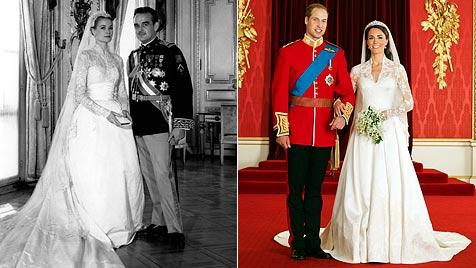 Ein Traum in Weiß: So schön sind royale Brautkleider (Bild: AFP EPA)