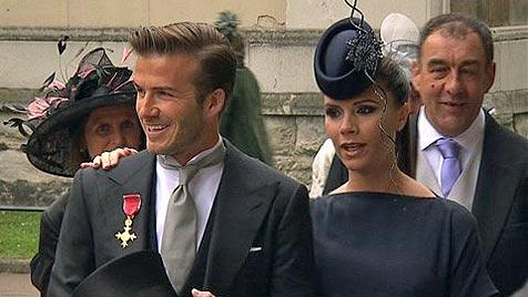 Beckham-Mäderl soll am 4. Juli zur Welt kommen (Bild: AP)