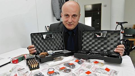 Einbruchserien mit 665.000 Euro Schaden aufgeklärt (Bild: Markus Tschepp)