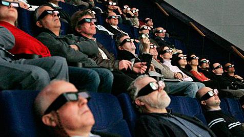 3D-Linsen sorgen für miese Qualität bei 2D-Filmen (Bild: AP)
