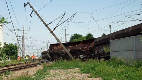 Entgleisung auf der Ostbahn - ab 6. Juni fährt S-Bahn wieder (Bild: Thomas Lenger)