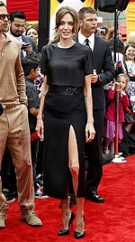 Magerwahn: Jolie, Beatrice und Schiffer superdürr (Bild: AP)