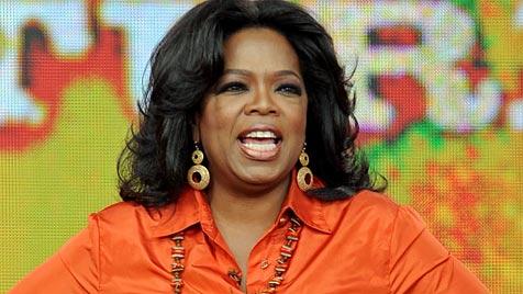 Abschied ganz allein: Oprahs letzter Auftritt (Bild: EPA)