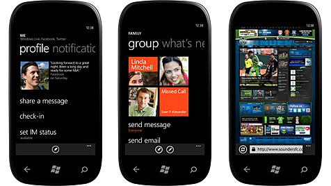 """""""Mango""""-Update für Windows Phone 7 gestartet (Bild: Microsoft)"""