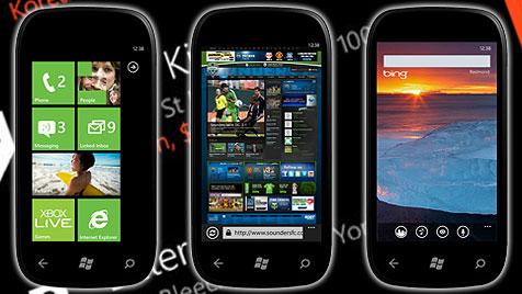 Update und neue Smartphones für Windows Phone 7 (Bild: Microsoft)