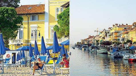 Adria, wir kommen: Urlaub in der Küstenstadt Grado (Bild: Andrea Thomas)