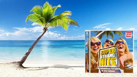 """Das sind die """"Super Strand Hits"""" der """"Krone""""-Leser (Bild: Photos.com/Getty Images, Kronen Zeitung)"""