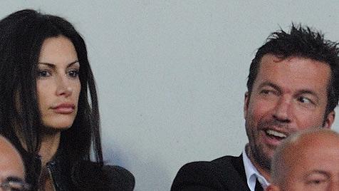 Lothar Matthäus zeigt sich in Sofia mit neuer Freundin (Bild: EPA)