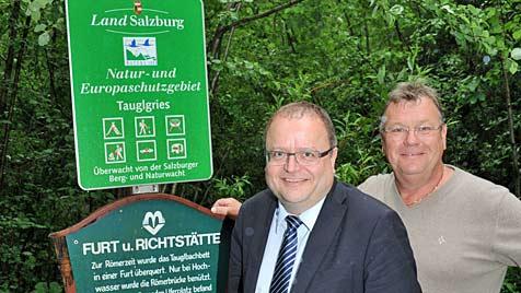 Bad Vigaun: Statt Schutzgebiet bald 380-kv-Leitung? (Bild: Wolfgang Weber)