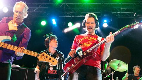Kultband Mr. Big rockte die Arena in Wien (Bild: Andreas Graf)