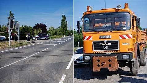 Motorradfahrer nahe Traiskirchen schwer verunglückt (Bild: Thomas Lenger)