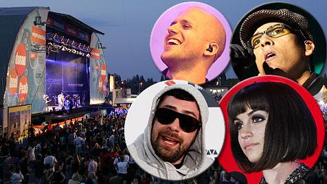 "Donauinselfest ""11: Sido, Milow, Nadine & Europe kommen (Bild: Klemens Groh, Sepp Pail, AP, AFP)"