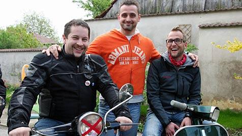 Flachgauer Roller-Corso mit Erfolg in Wachau unterwegs (Bild: Max Grill)