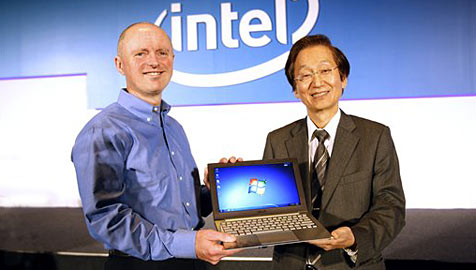 "Neue Ger�teklasse: Intel pr�sentiert das ""Ultrabook"" (Bild: AP)"