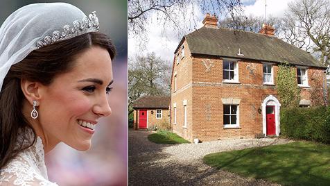 Früheres Elternhaus von Kate Middleton wird versteigert (Bild: AP, EPA)