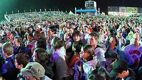 """Oldies"" verpassten See-Rock-Festival fulminanten Auftakt (Bild: Sepp Pail)"