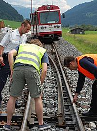 Nach Sabotage an Pinzgaubahn: Burschen entlastet? (Bild: APA/Franz Neumayr)
