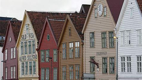 Bergen lockt mit norwegischer Tradition und Flair (Bild: AP)