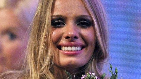 Jana holt sich den Titel bei 'Germany's next Topmodel' (Bild: dpa/Henning Kaiser)