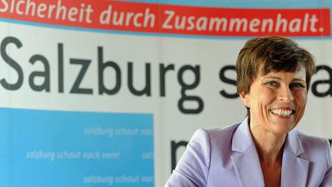 """Neo-Landesrätin Schmidjell im """"Krone""""-Interview (Bild: APA/BARBARA GINDL)"""