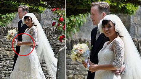 Lily Allen hat geheiratet - und ist wieder schwanger (Bild: AP)