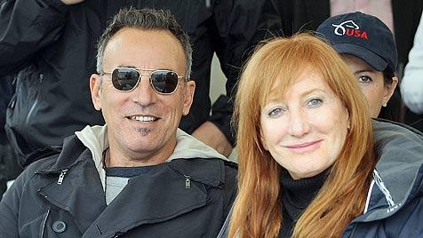 Bruce Springsteen besucht Reitturnier in Salzburg (Bild: EPA)