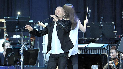 Kult-Barde Sting sorgte bei See-Rock für Gänsehaut pur (Bild: Ricardo)