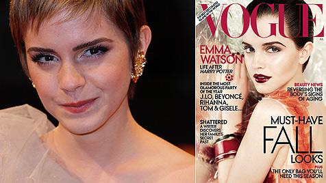 """Emma Watson jammert in der """"Vogue"""" über Leben (Bild: AP)"""