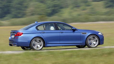 So dezent und so brachial wird der neue BMW M5 (Bild: BMW)