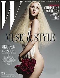"""Aguilera: """"Möchte mir Probleme von der Seele singen"""" (Bild: W Magazine)"""