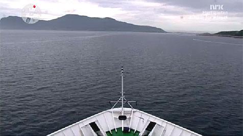 Norwegen: Sender bietet Kreuzfahrt in Echtzeit im TV an (Bild: NRK)