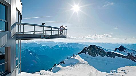 """""""Gipfelwelt 3000"""" auf Kitzsteinhorn eröffnet (Bild: APA/KITZSTEINHORN)"""