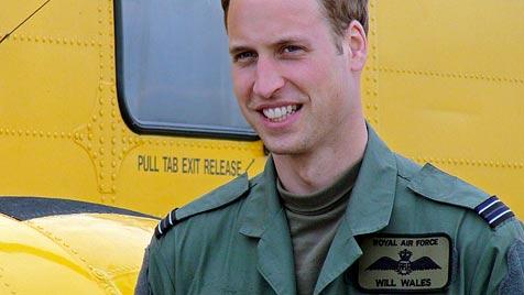 Am Geburtstag zur Arbeit: Prinz William ganz bodenständig (Bild: EPA)