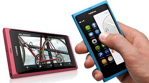 """Bilder des ersten """"Mango""""-Handys von Nokia im Netz (Bild: Nokia)"""