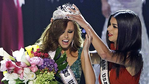 """Miss USA"" Alyssa Campanella liebt ""Die Tudors""-Star (Bild: AP)"