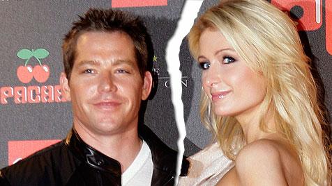 Paris Hilton und Lover Cy Waits haben sich getrennt (Bild: EPA)