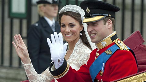William und Kate spenden 1 Million Euro Hochzeitsgeld (Bild: EPA)