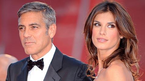 Clooney räumt mit bösen Gerüchten um Canalis auf (Bild: EPA)