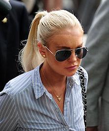 Lindsay Lohan erhält von Richterin Partyverbot (Bild: AFP)