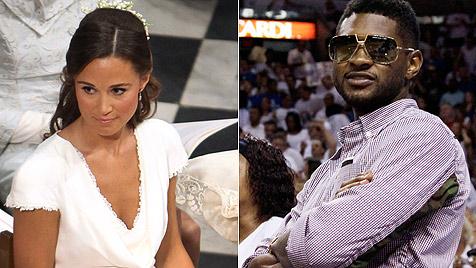 Usher will Pippa Middleton sexy Dessous anziehen (Bild: AP)