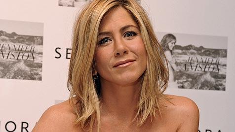 Aniston ließ sich Namen ihres toten Hundes tätowieren (Bild: AP)