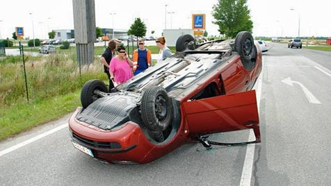 Drei Kleinkinder bei zwei Unfällen verletzt (Bild: Feuerwehr Himberg)