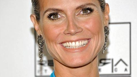 """Heidi Klum: """"Oben ohne in keinem Alter ein Problem"""" (Bild: AP)"""