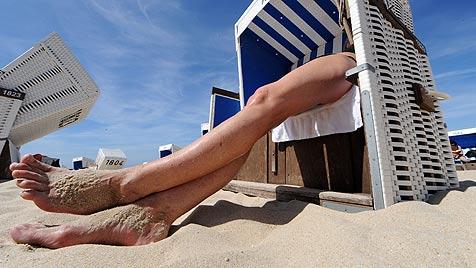 Trauminsel Sylt: Das Glück liegt im Strandkorb (Bild: dpa/A3794 Peter Steffen)