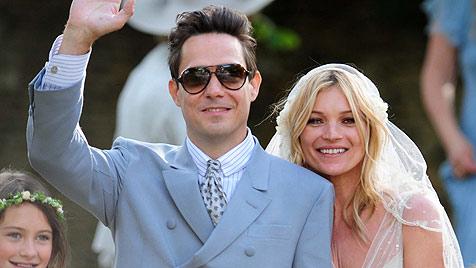 Hochzeitsfeier kostete Kate Moss eine Million Pfund