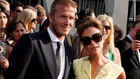 Victoria Beckham doch noch nicht Mama geworden (Bild: AP)